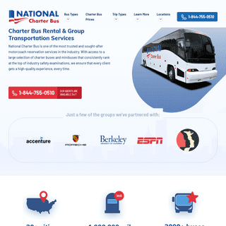 Charter Bus Rental & Event Transportation Services - National Charter Bus