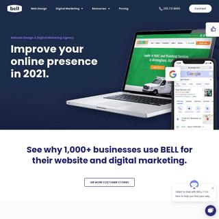Website Design and Digital Marketing Agency - Digital Agency - Bell Media