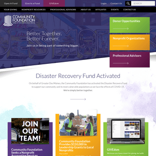 Community Foundation of Greater Des Moines