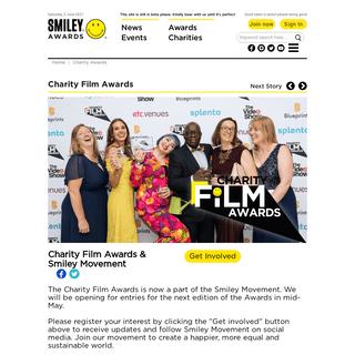 Awards - SmileyMovement
