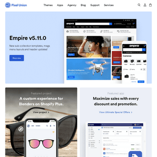 Pixel Union - Premium Shopify Themes, Apps and Services
