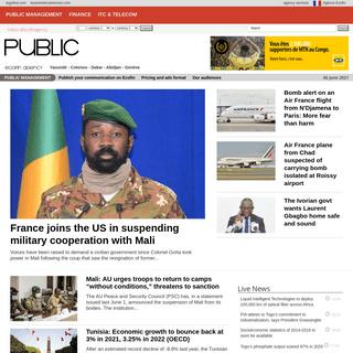 Public management - Ecofin Agency