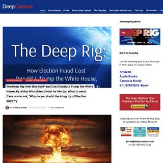 Deep Capture – Investigating Corruption- Election Fraud, Economic Warfare, and the Financial Crisis