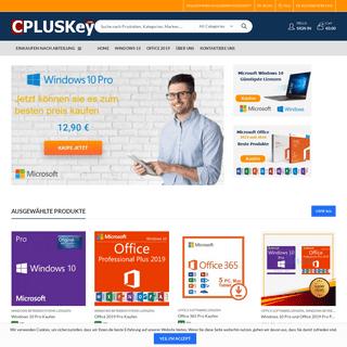 Windows 10 Pro Kaufen, Office 2019 lizenz Kaufen - Cpluskey.Com