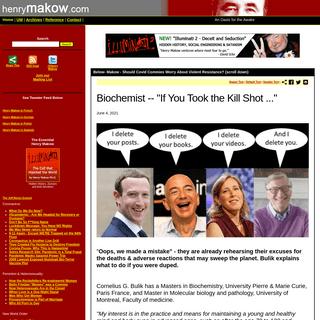 henrymakow.com - Exposing Feminism and The New World Order
