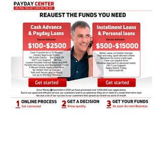 Cash Advance Online - Fast Cash Loans