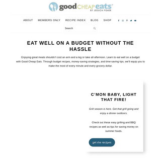 Eat Well on a Budget with Easy Recipes - Good Cheap Eats
