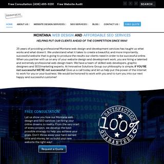 Montana Web Design & SEO Services - Innovative Solutions Group