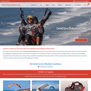 Paragliding and Hang Gliding - Torrey Pines Gliderport