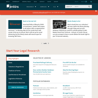 Jenkins Law Library - America`s First Law Library