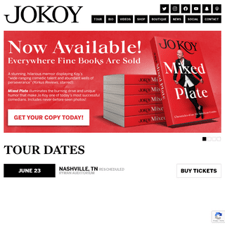 JOKOY.COM - Official website of comedian Jo Koy