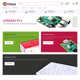 The Ultimate Raspberry Pi & Maker Store– The Pi Hut