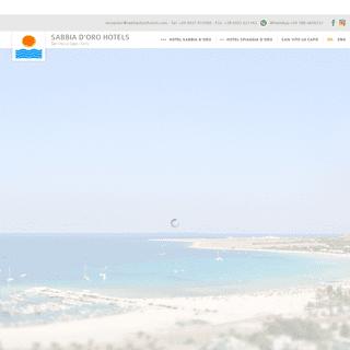 Sabbia d'oro Hotels, hotel a San Vito lo Capo, Hotel 2 e 3 stelle