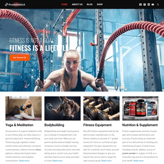 ProAthleticX - Fitness, Nutrition, Bodybuilding, Weight Loss & Lifestyle