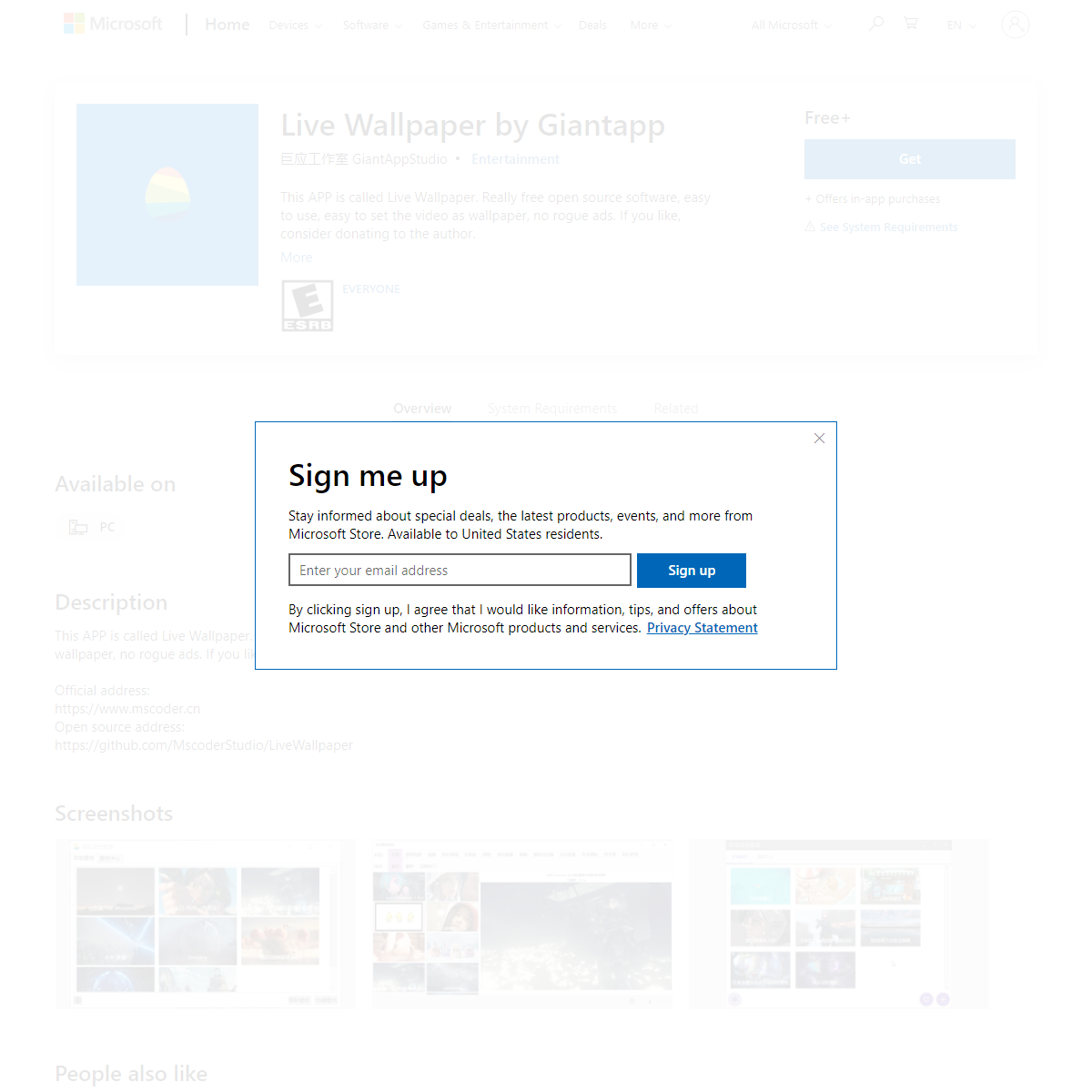 Get Live Wallpaper by Giantapp - Microsoft Store