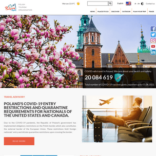 Poland.travel - Comprehensive tourist travel guide through beautiful places in Poland
