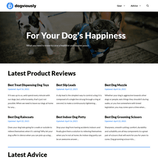 Dog Product Reviews, News & Advice - Dogviously