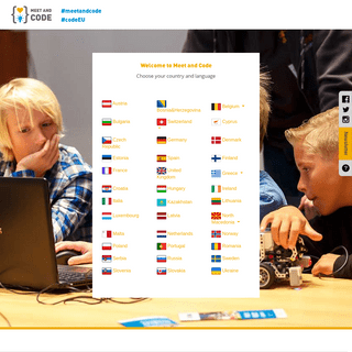 Meet and Code - Europe's favourite digital skills youth initiative