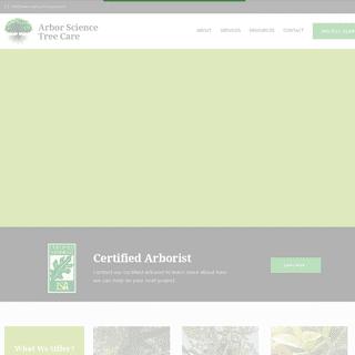 Home - Arbor Science Tree Care