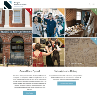Newport Historical Society Home - Newport Historical Society