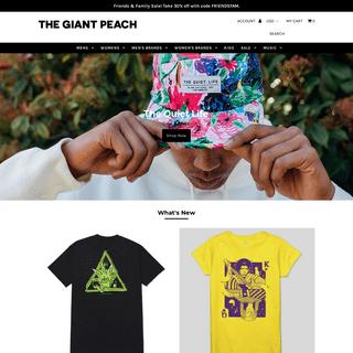 Clothing, Hip Hop Music, Skate, Streetwear - The Giant Peach