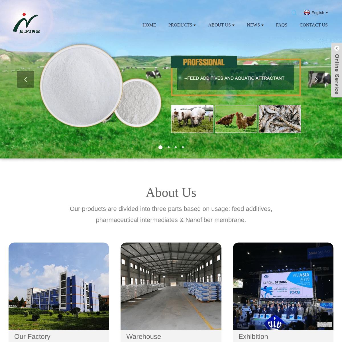 Feed Additive, Livestock Betaine, Nanofiber Membrane - E.Fine
