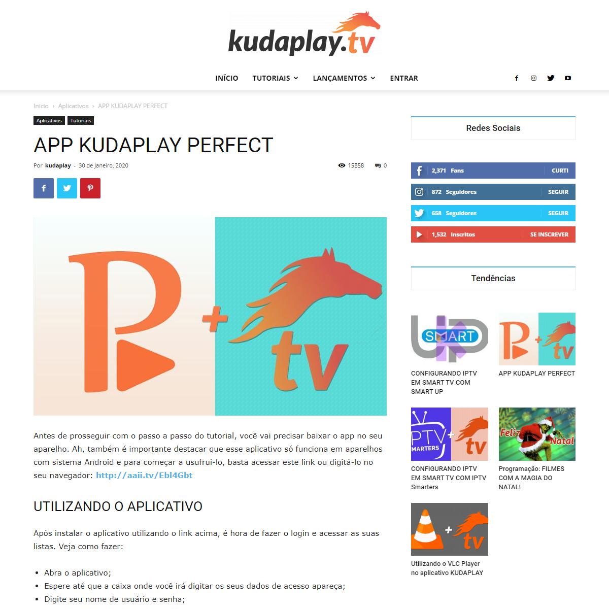 APP KUDAPLAY PERFECT - Kudaplay.TV