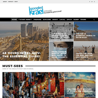 The ESSENTIAL Guide to Israel - what to do in Israel, see, eat & enjoy!