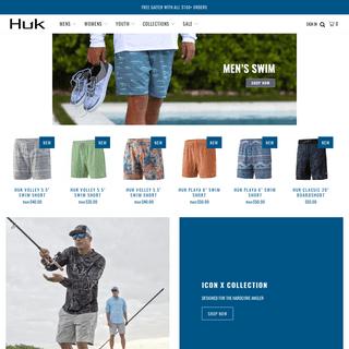 Performance Fishing Apparel & Clothing - Huk Gear