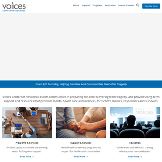 Home - Voices Center for Resilience