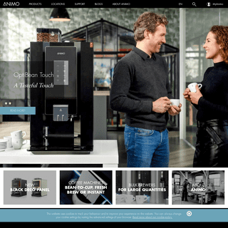 Coffee machines for professional use - Animo
