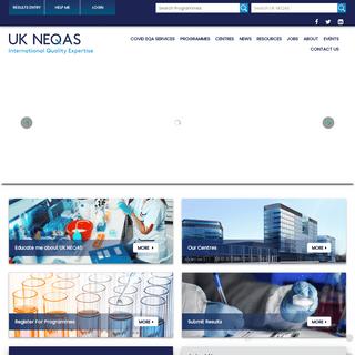 Home - UK NEQAS - External Quality Assessment Services