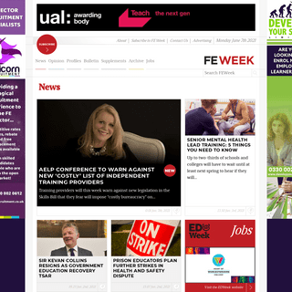 FE Week - Further Education, Skills & Apprenticeships news