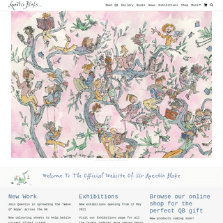 Welcome to the official website of Sir Quentin Blake - Quentin Blake