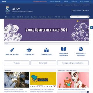 UFSM – Universidade Federal de Santa Maria