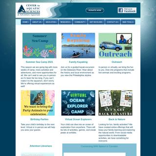 Center for Aquatic Sciences at Adventure Aquarium