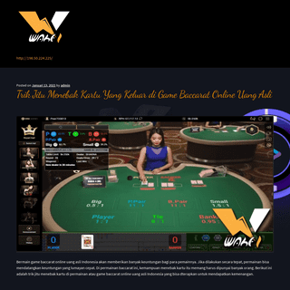 Situs Casino Online - Roulette - Sicbo - Baccarat - Dragon Tiger
