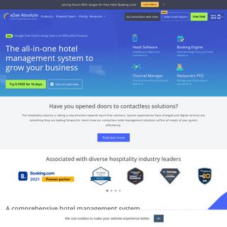 Best Hotel Management System - #1 Hotel Software on Cloud