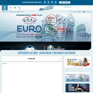 Live Sports Betting Odds, Online Sportsbook, Casino, Racebook, BetPhoenix