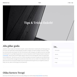 Tips & Tricks Enkelt!
