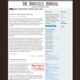 The Brussels Journal