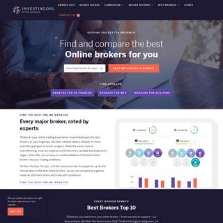 InvestinGoal- Compare Online Brokers & Trading Platforms