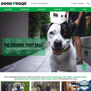 The Original Poop Bags®️ - Biodegradable And Compostable Pet Waste Bags
