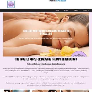 Body To Body Massage With Best Therapist Call - Whatsapp Us Or Visit Directly To My Spa