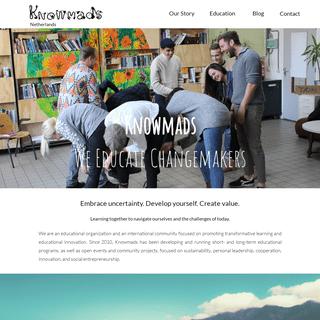 Knowmads - Alternative Education School in Amsterdam