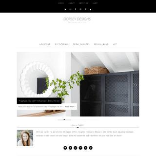 Dorsey Designs - DIY and Interiors by Sarah + David