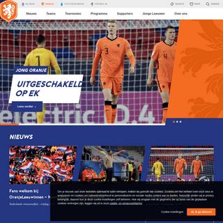 Hét kanaal van de KNVB voor alle Oranjefans - OnsOranje