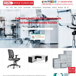 Buy Office Furniture Online Australia - Fast Office Furniture