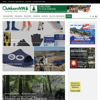 OutdoorsNW Magazine - Adventure, Travel, Recreation