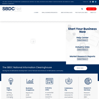 SBDCNet - Official SBDC National Information Clearinghouse - U.S. SBA